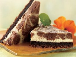 Brownie Swirl Cheese Cake