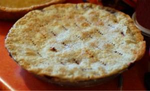 baked strawberry pie